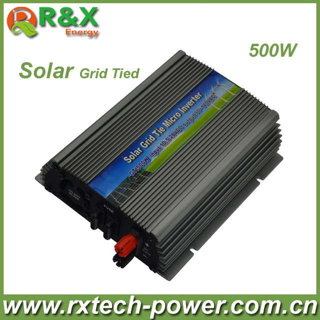 500W (10.5-28VDC) micro PV inverter, on grid, with CE&RoHS approved, Free shipping!