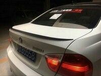 Car Spoiler For BMW E90 320i 320li 325li 328i Spoiler 2005 2011 ABS Plastic Unpainted Primer Rear Trunk Boot Wing Lip Spoiler