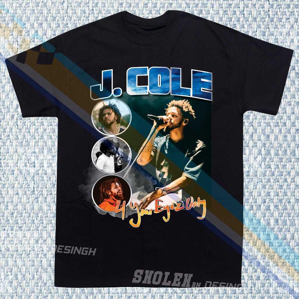 Новая ограниченная коллекция, вдохновленная JCOLE 4 ваши глаза только Тур хип хоп Рэп R & B футболка