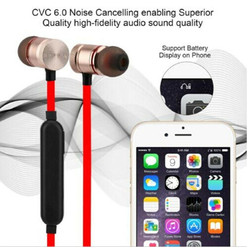 AU Sports In-Ear Wireless Earphones Bluetooth 4.2 Stereo Headphones Headsets