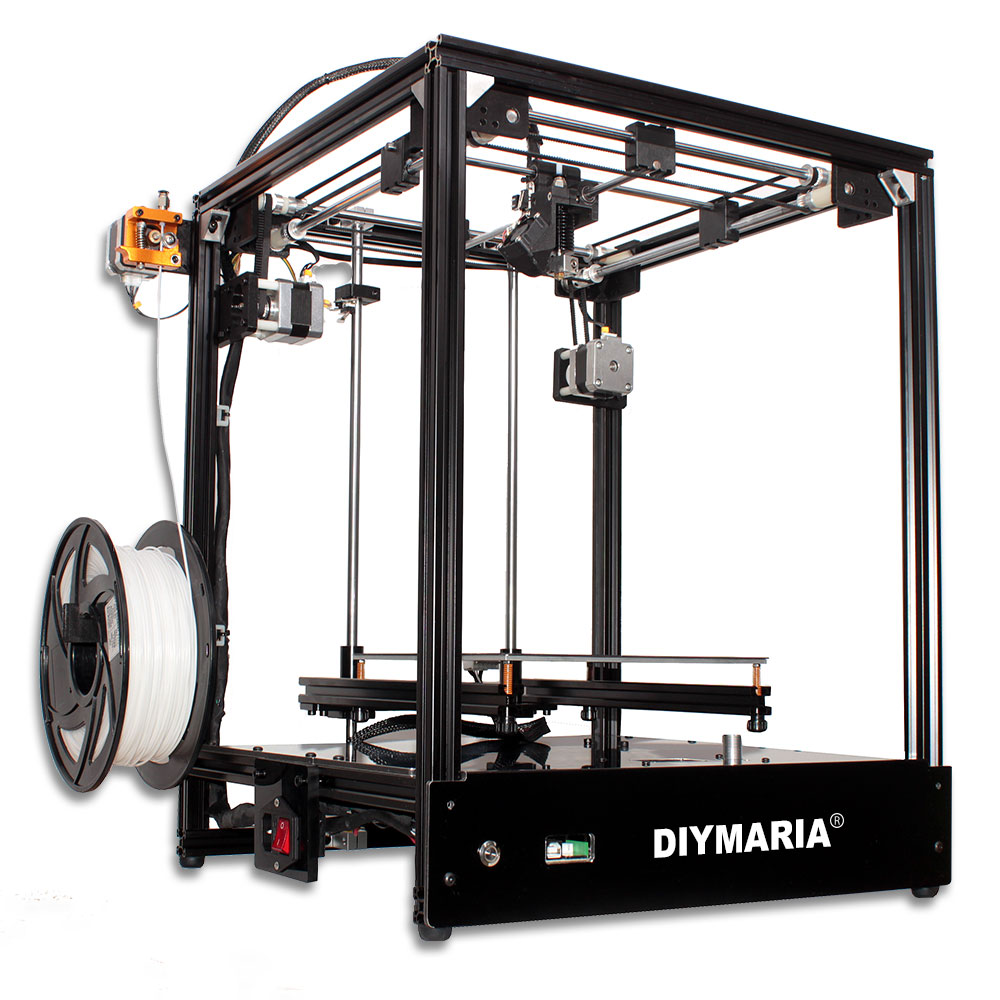 3d printer FDM 205*205*245mm size Full metal structure 3d printer high precision 3D Soft patented magnetic sticker**