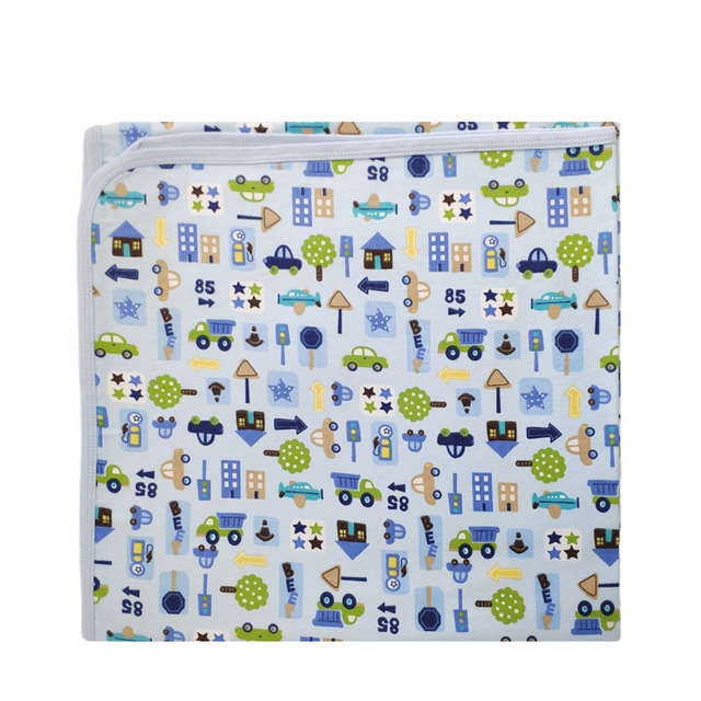 84142121daa Newborn Baby Changing Pad Sheet Infant Child Bed Waterproof EVA Diaper Pad  Crib Reusable Cotton Washable Urine Mat Nappy Cover