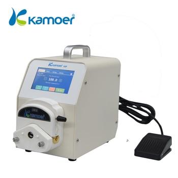 Kamoer UIP Перистальтический лабораторный насос с мотором Steppetr, управление Wi-Fi, высокая скорость потока, поддержка ножного переключателя, сенсо...