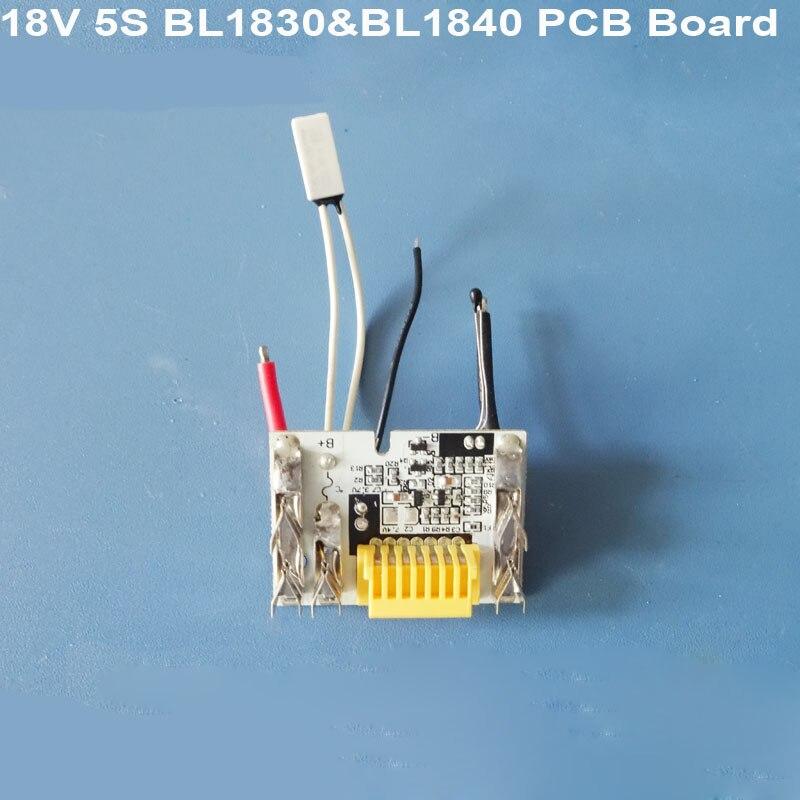 BL1830 BL1815 BL1845 BL1860 BL1850 Li-Ion Battery PCB Board Circuit Board  For Electric Drill 5S Makita 18V Lithium Battery BMS