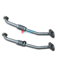 Excavator fittings Hitachi ZX200/240/ EX330-3 excavator 4HK1 6HK1 turbocharger return tubing digger parts