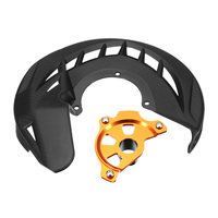 Motorcycle Front Brake Protector Cover Brake Disc Rotor Guard Brake For KTM 125 530 EXC EXCF