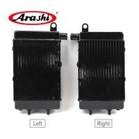 Arashi For APRILIA TUONO 1000R/H 02 05 Radiator Cooler Motorcycle Cooling Parts Aluminum Engine Water