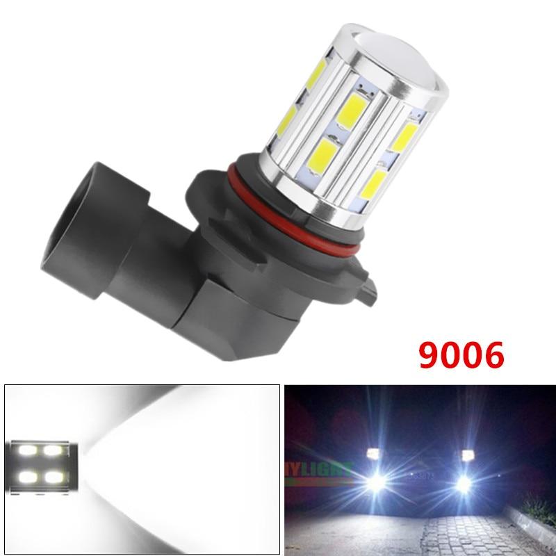 9006 HB4 High Power 12SMD 5730 5W Cree LED čipy Xenonová bílá světla Žárovky auto světelný zdroj mlhové žárovky 12V-24