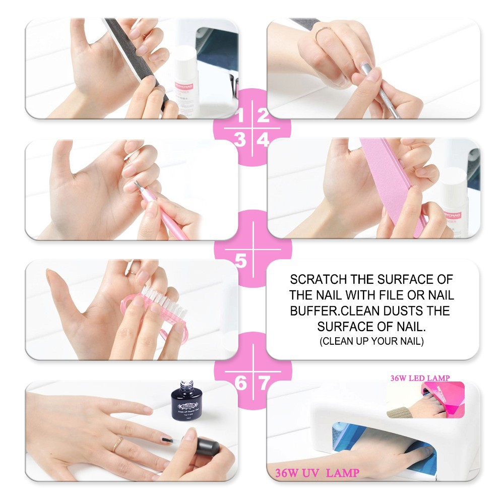 Aliexpress 80 Colors Choose Best One Bling Gel Nail Polish Geous Uv Long Lastting Up To