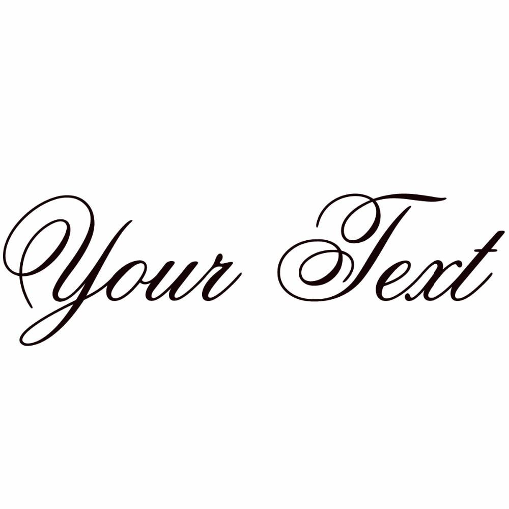 La Jolla ES Your Text Vinyl Decal Sticker Car Window Bumper CUSTOM 7 Personalized Lettering
