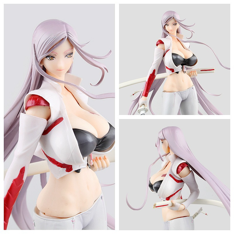 Anime Orchid Seed Royal Sister TRIAGE X YUKO SAGIRI 26cm PVC sexy Action Figure Collection Model Toy Doll best Gifts brinquedos anime one piece dracula mihawk model garage kit pvc action figure classic collection toy doll