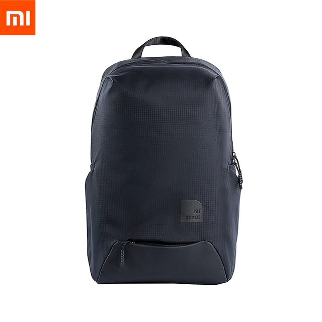 מקורי Xiaomi אופנה ספורט תיק דק נסיעות תרמיל 23L פוליאסטר עמיד IPV4 עמיד למים חיצוני תיק לגברים נשים סטודנט