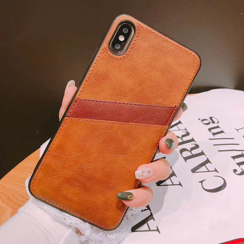 Pluggable mobile phone case For iphone XR X XS Max 6 6S 7 8 Plus Fashion Business simplicity new phone shell in Fitted Cases from Cellphones Telecommunications