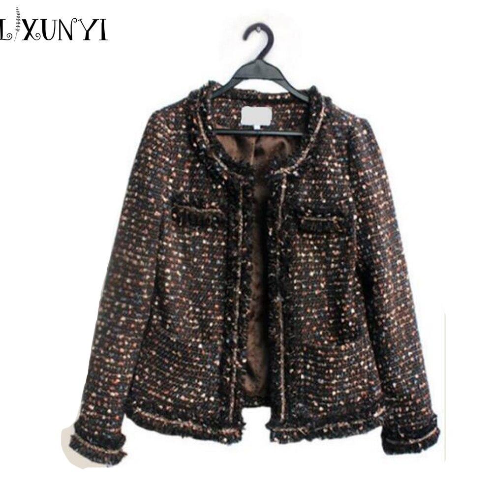 Online Buy Wholesale tweed coat womens from China tweed coat ...