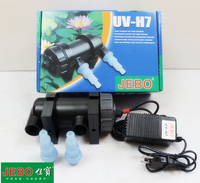 JEBO UV H7 7W Wattage UV Sterilizer Lamp Light Ultraviolet Filter Clarifier Water Cleaner For Aquarium Pond Coral Koi Fish Tank
