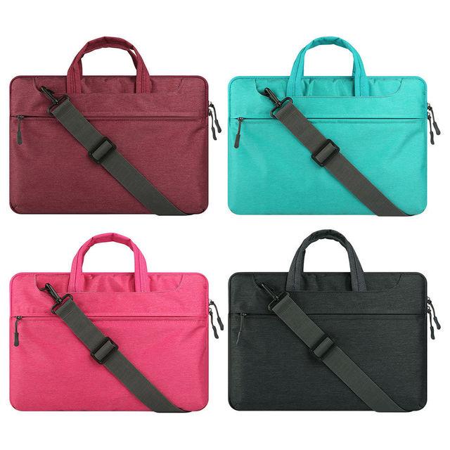 Handbag Laptop Bag For Le Macbook Air 13 Pro 15 Fashion Zipper Shoulder Strap