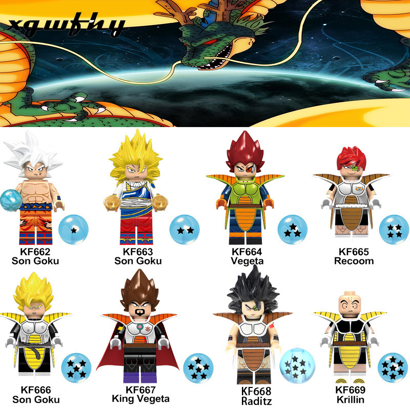 Hot Z Black goku Naba Sun Wukong Badak Dales Learning Action Figures Building Blocks Gift Toy Minifigured JM225