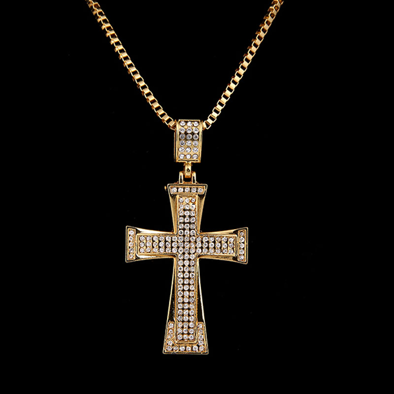 Mens hip hop jewelry fashion bling bling jesus cross for Bling jewelry coupon code