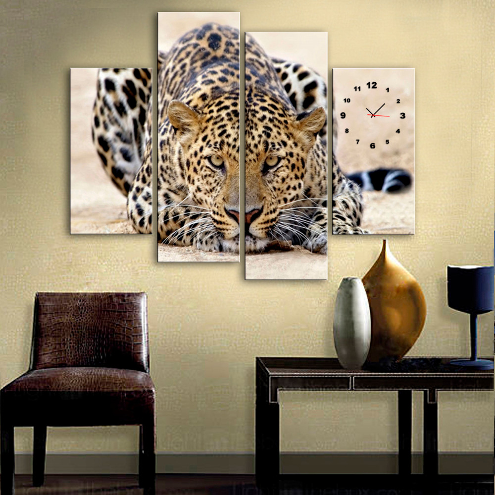 Cool Leopard Wall Decor Pictures Inspiration - The Wall Art ...