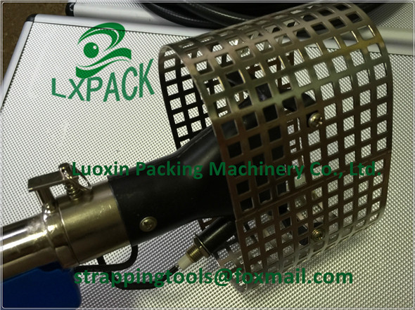 LX-PACK Lowest Factory Price Rapid boat packing film shrink gun shrink wrap torch gas flame nozzle Gas Heat Gun for shrink wrap ������������������