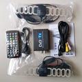 Alta Velocidad 110 km/h DVB-T Doble Antena DVB-T2 DVB T2 Coche de Oro coche Dvb-t MPEG4 H.264 USB Externo Coche Sintonizador de TV Digital