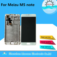 LCD Screen Display Touch Panel Digitizer With Frame For 5 5 Meizu M5 Note White Black