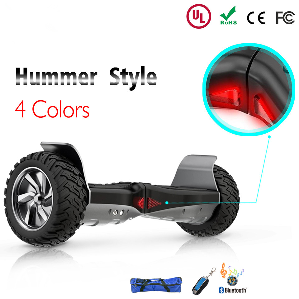 UK DE ES FR Safe Tested Hoverboard 8.5 All Terrain Off Road Hoverboard Electric Scooters Adults Smart Balance Wheel Haveboards