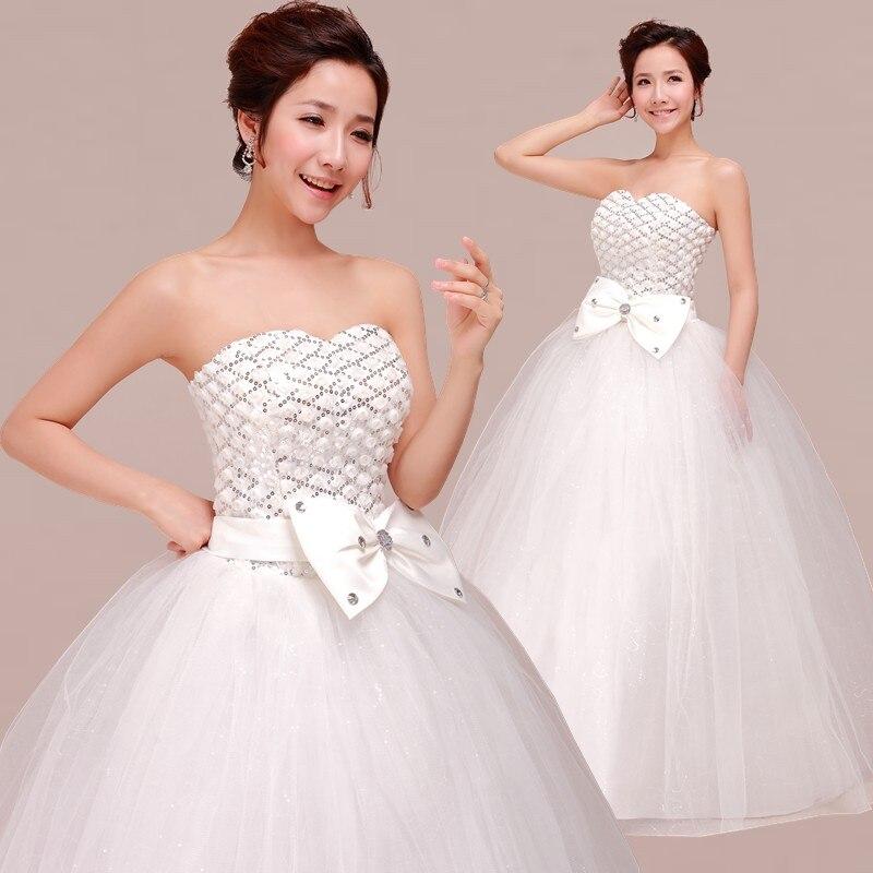 2017 Sweet Princess Straps Wedding Dress Tube Top Plus: Sweet Tube Top Bride Princess Lace Strap Style Wedding