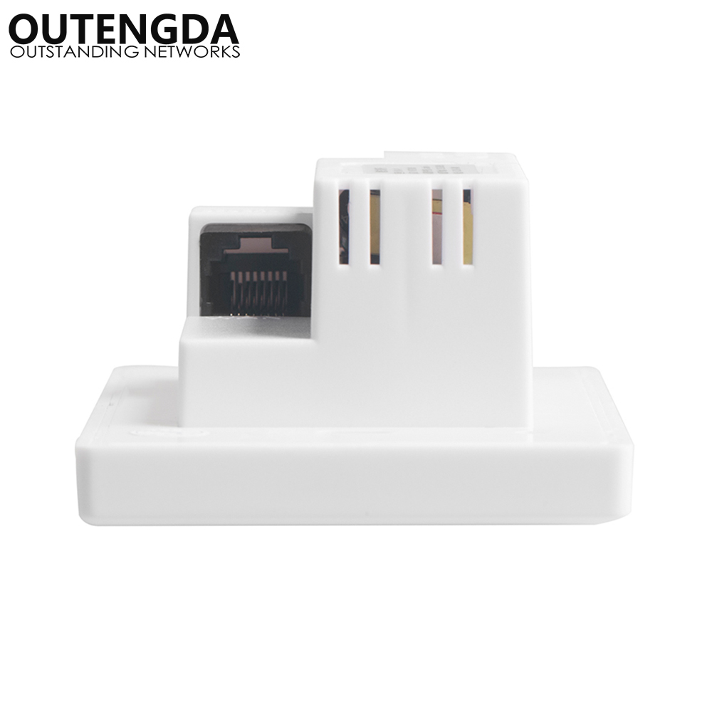 300Mbps 118 US-standard mur sans fil AP pour hôtel chambres de bureau domitoire USB Charge Point d'accès prise WiFi Extender routeur - 2