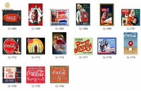 Олово знак Кока-напиток Cola хорошо с Еда Винтаж металлический знак Ретро Декор для стен бар домой паб Олово знак Плакаты 12X8 дюймов