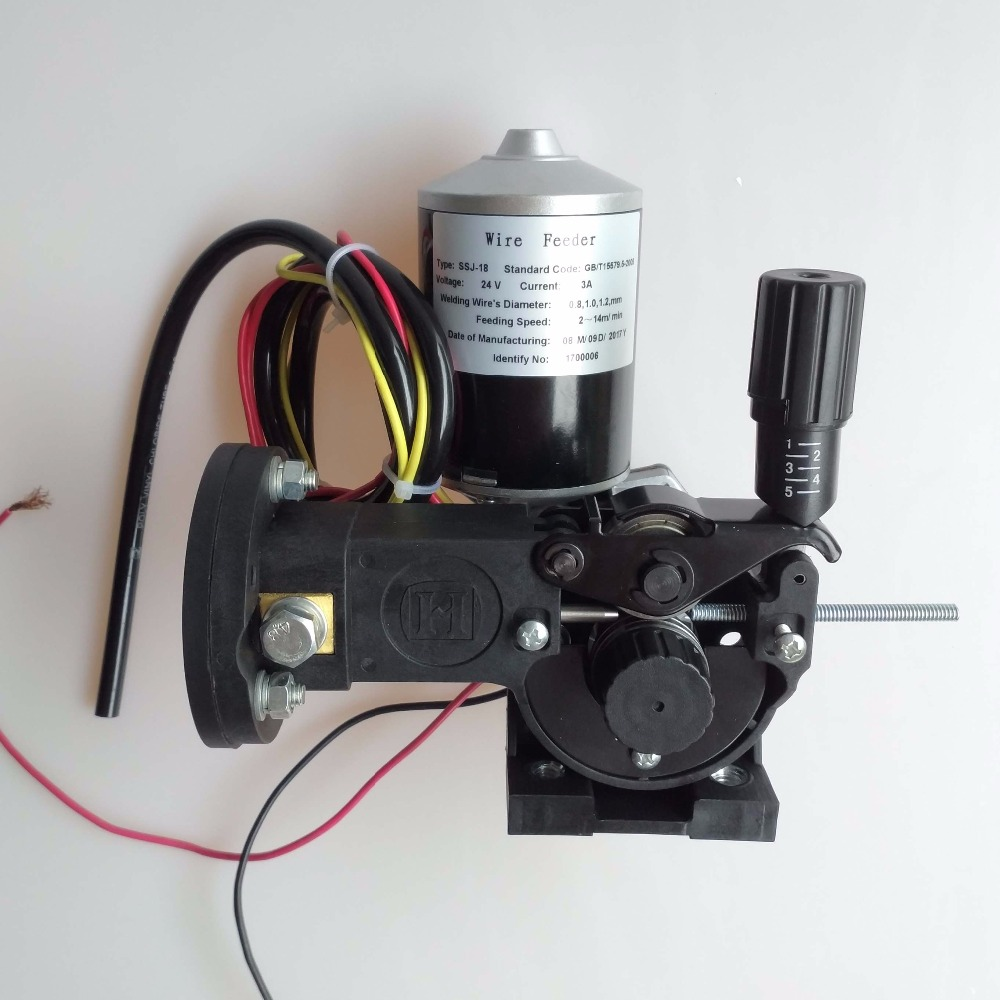 Welding Wire Feeder 24V Wire Feed Assembly 0.8-1.0mm/.03-.04
