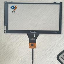 Черный сенсорный экран для Techline TL-DD4975P Автомобильный gps навигатор сенсорный экран панель Ремонт Запасные части