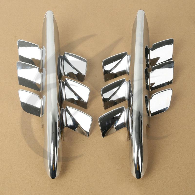 Chrome Shark Gills tisztító akcentusok a Honda Goldwing GL1800-hoz - Motorkerékpár tartozékok és alkatrészek - Fénykép 4