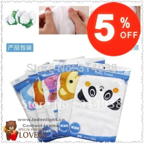 FREE SHIPING 8bags/lot/ 16 pics totally  Purified baby towel baby \sweat towEl children \Sweat towel
