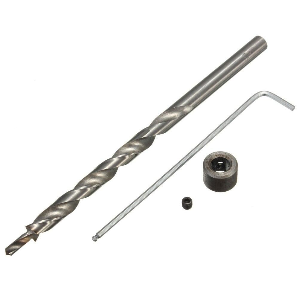 Hand Tools Woodworking Twist Step Drill Bit Stop Collar