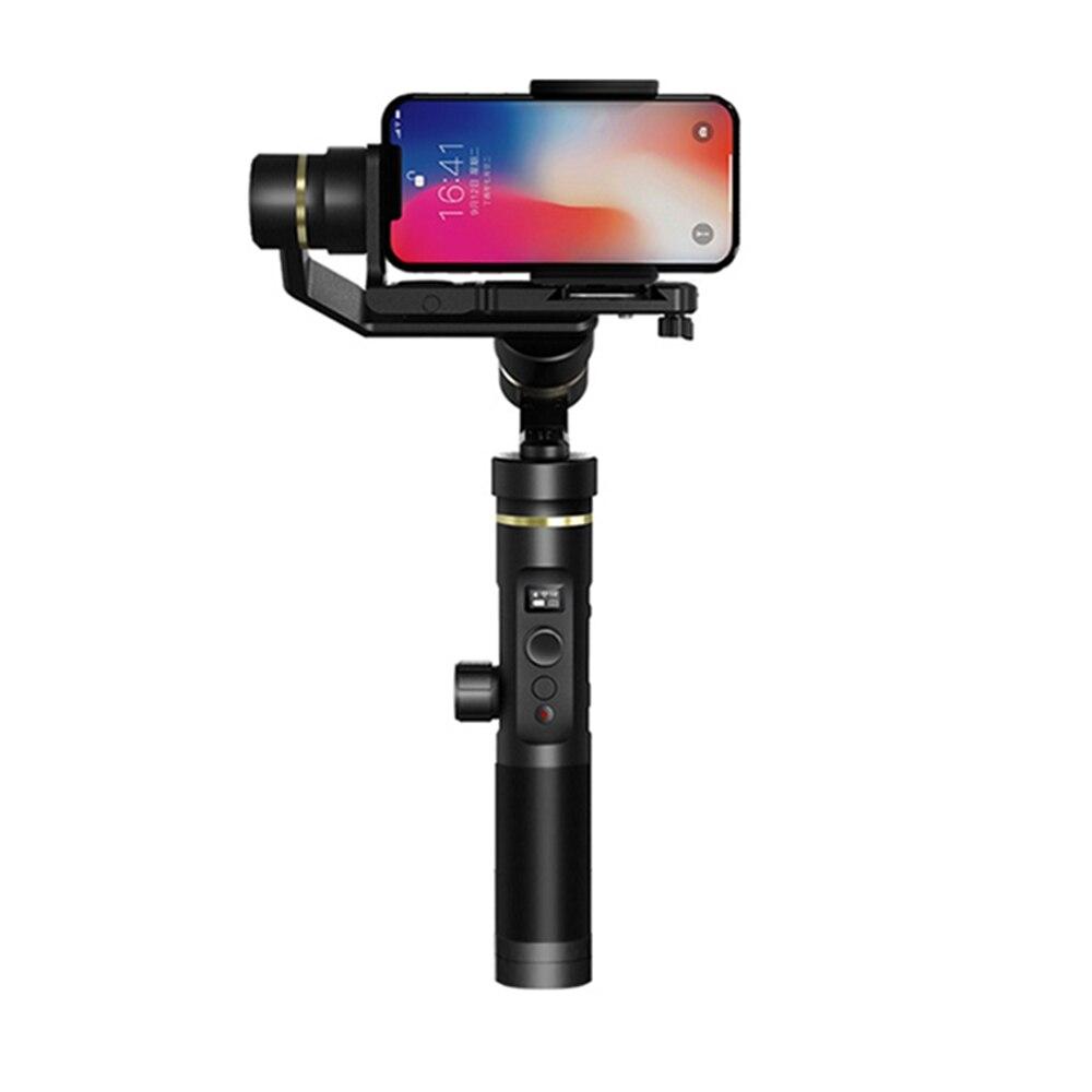 FY FEIYUTECH G6 Plus 3-Axis WIFI Bluetooth Schermo OLED Per Per Azione/Fotocamere Digitali/Smartphone Palmare cardano Stabilizzatore