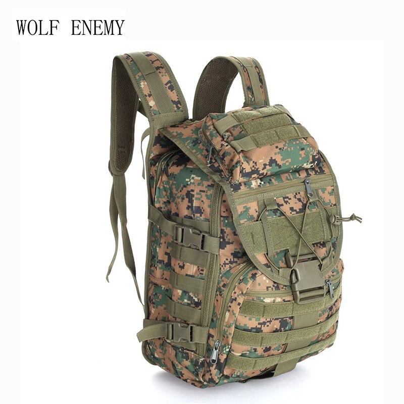 40L Táticas Militares Backpack Pacote 800D X7