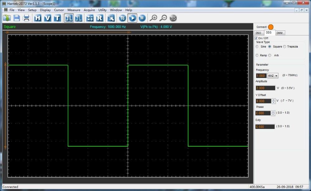 Hantek 3in1 2-CHannel Digital Oscilloscope/Waveform Generator/Multimeter