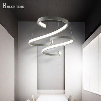 Moderne Hängen Lampen LED Anhänger Lampen Acryl Hängen Lampen Beleuchtung Für Küche Wohnzimmer Zu Hause Beleuchtung Anhänger Lichter