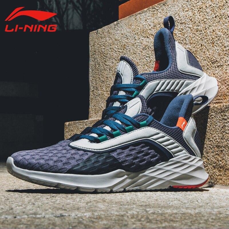 0eede735 Li-Ning/Мужская беговая Обувь для бега Легкая спортивная обувь с гибкой  подкладкой удобные кроссовки ARHP007 XYP868 - b.aniketb.me
