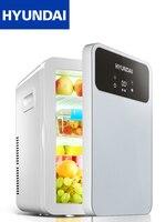 12 В автомобильный холодильник 220 В бытовой небольшой холодильник, охлаждение и отопление переносной мини-холодильник heladera небольшой холоди...
