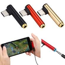 전체 판매 usb 타입 c 3.5mm 헤드폰 잭 어댑터 aux 케이블 변환기 xiaomi 화웨이 소니 삼성 드롭 배송