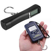 40Kg/10g Hook Fishing Scale LCD Digital Weighing For Travel Luggage Baggage Suitcase Bag Weight Electronic Hanging Balance Fish