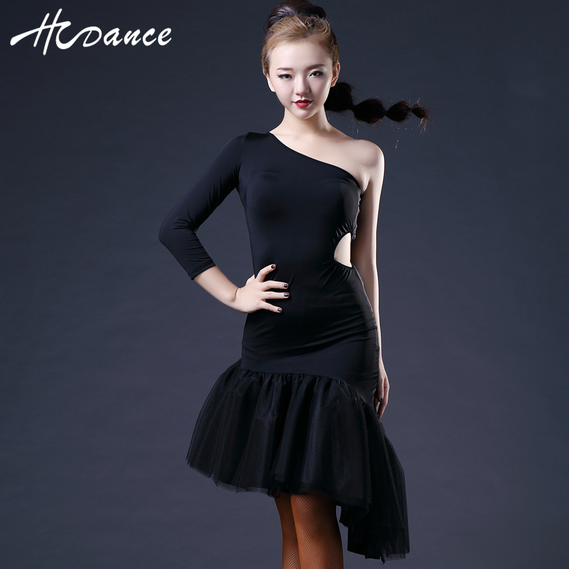 New Brand Samba Dance Dress Women Sleeveless Spandex Sexy Tango Dresses Salsa Latin Dress Competition A375