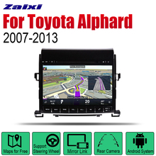 ZaiXi Android Car Radio Stereo GPS Navigation For Toyota Alphard 2007~2013 Bluetooth wifi 2din Multimedia
