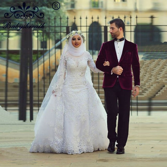 Men Muslim Wedding Dresses