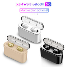 X8 TWS True Wireless Earbuds 5D Stereo X8 Bluetooth Earphone