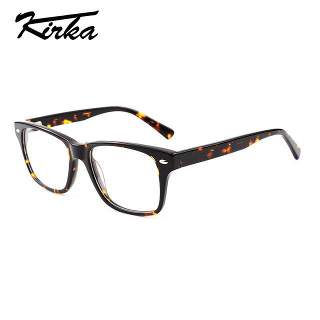 95fc180289 Kirka New Model Glasses Men Oversized Eyewear Acetate Big Square Frames  Reading Glasses Women Eyeglasses Frame Unisex