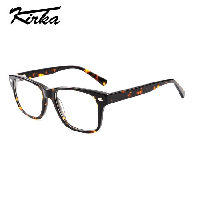0a3797a1ed86d Kirka Novo Modelo Homens Óculos Oversized Óculos de Acetato de Armações de  Óculos de Leitura Das