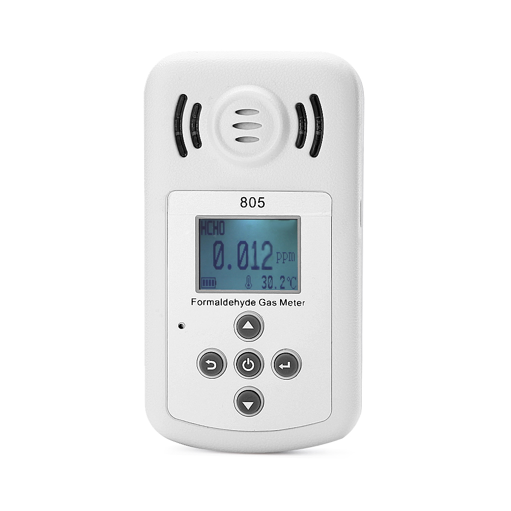 Modern Profession Gas Formaldehyde Detector PM2.5 Air Quality Monitoring Tester Dust Haze Temperature Humidity Moisture Meter